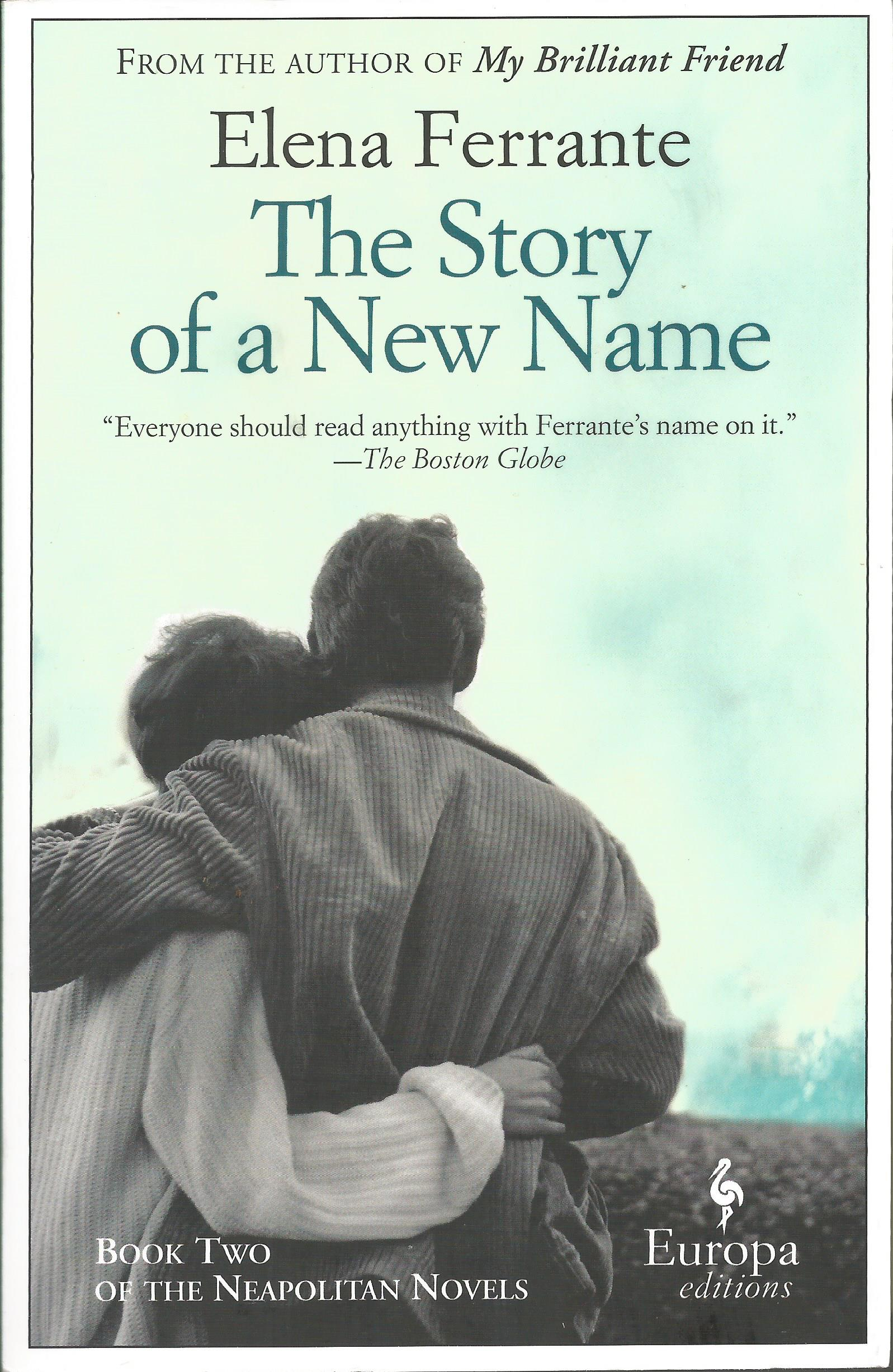 Fifty Books Project 2018: The Story of a New Name by Elena